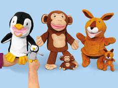 Lakeshore Puppet Pals - Complete Set