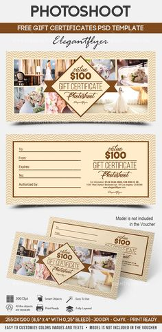 Personalized Gift Certificates Template Free Techno Store  Free Gift Certificate Psd Template  Free Gift .