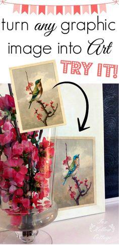 DIY Spring Bird Art - Reader Featured Project