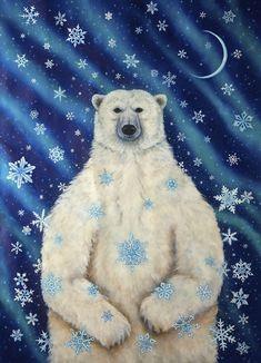 Cathy McClelland    ::   Winter Soltice Bear