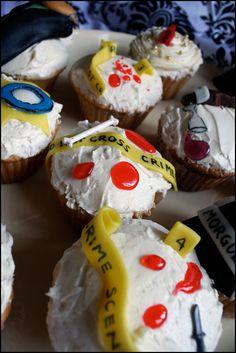 Murder Mystery Cupcakes <3