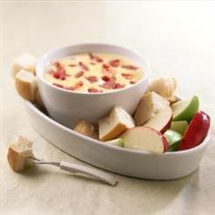 Bacon and Cheese Fondue