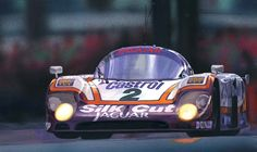My tribute to the Jaguar XJR-9 is a sports-prototype race car, debuting at the 1988 24 Hours of Daytona.