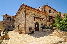 """Thalori"" traditional houses in Kapetaniana, Crete"