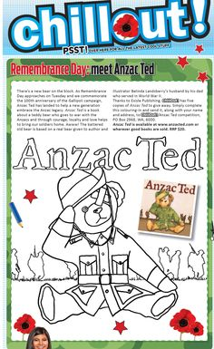 Anzac Day, Remembrance Day, Ted, Anniversary, Writing, Celebrations, Image, Anniversaries, Being A Writer