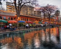 San Antonio Riverwalk. I was young but I remember this and the Alamo very well. This place was magically gorgeous