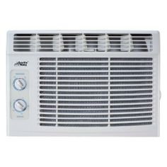 Arctic King MWK-05CMN1-B 5000 BTU window-mounted air conditioner by Jensen Distribution Services. $145.99. 5000 BTU window-mounted air conditioner. Ideal for a room of 150 sq. ft.. Rotary thermostat for easy fan-speed control. 2 fan speeds for custom cooling. 115V voltage rating and 4.3 amps current rating. Install the Arctic King MWK-05CMN1-B 5000 BTU window-mounted air conditioner and forget sweaty and humid days. This window air conditioner not only cools but also removes hu...