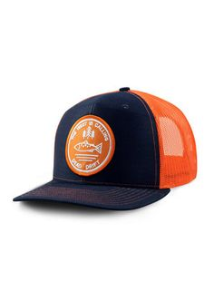 new product 82db6 be463 Dead Drift Fly Calling Trucker. Fly Fishing Hats ...