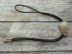 Simple Triangle Bolo Tie Country Western by honeyblossomstudio