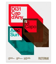 Poster Indie Djs by MARIN DSGN #simple #clean #design