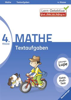 Lern-Detektive: Textaufgaben (Mathe 4. Klasse): Amazon.de: Simone Eisenmann, Rosemarie Wolff, Silke Voigt, Loori: Bücher