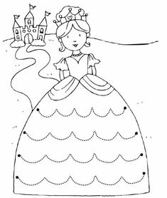 Crafts,Actvities and Worksheets for Preschool,Toddler and Kindergarten.Lots of worksheets and coloring pages. Preschool Writing, Preschool Learning, Preschool Activities, Tracing Worksheets, Preschool Worksheets, Princess Crafts, Pre Writing, Drawing For Kids, Pre School