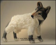 Wolf in sheep's clothing.  Nice!