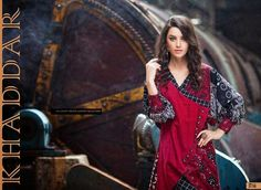 Khaddar Winter Dresses For Girls By Shariq Textiles From 2014 & 2015