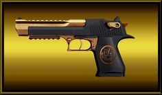 Image detail for -. Airsoft Guns, Weapons Guns, Guns And Ammo, Hand Cannon, Desert Eagle, Survival Backpack, Gun Art, Cool Guns, Assault Rifle