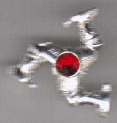 Isle of Man Legs Manx Crest Flag Pin Badge