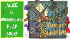 FLAP BOOK- Alice in Wonderland Themed Flap Book Class