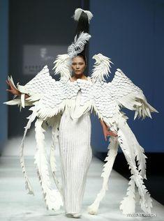 Xu Ming - China Fashion Week in Beijing, capital of China, Nov. 1, 2012