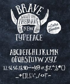 Brave New Font Pack & Graphic Extras by Nicky Laatz on Creative Market