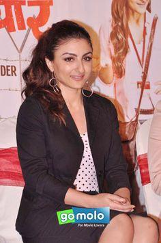 Soha Ali Khan at the music launch of Hindi movie 'War Chhod Na Yaar' at PVR Cinemas in Mumbai