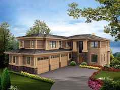 Lakefront House Plan chp-39421 at COOLhouseplans.com different route