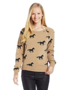O'Neill Juniors Blakely Sweater, Brown, Small *** More info could be found at the image url. High Fashion Home, Brown Sweater, Sweaters For Women, Women's Sweaters, Fashion Outfits, Womens Fashion, Fashion Brands, My Style, Sweatshirts