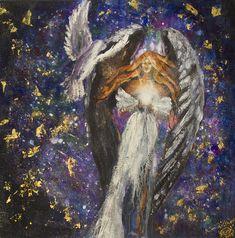 Descendens Art, Painting, Angel