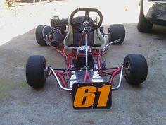 Vintage Margay ready for Barnesville. Vintage Go Karts, Man Stuff, Cool Stuff, Go Kart Racing, Karting, Cart, Metal, Vehicles, Design