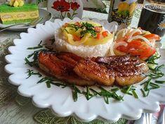 Rozpečený bôčik (fotorecept) - recept | Varecha.sk French Toast, Breakfast, Food, Anna, Red Peppers, Morning Coffee, Essen, Meals, Yemek