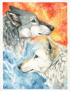 By Fire and Water by wolf-minori.deviantart.com on @deviantART