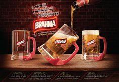 """Brahma cria caneca do """"chope perfeito"""" no Peru"""