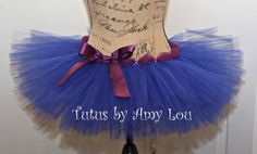 Princess Anna Inspired Race Running Tutu Adult by TutusByAmyLou, $35.00