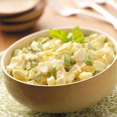 Old-Fashioned Egg Salad Recipe -- I will try this recipe this week with some of the suggestions listed in the comments.