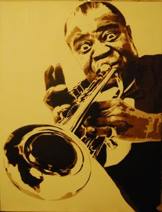 Personalities of legalization by Leviathan Art: Louis Armstrong