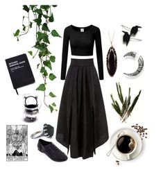 """Witch Aesthetic"" by thorntonangel on Polyvore featuring New Look, WithChic, 14th & Union, Thomas Sabo, Killstar, witch, herbal and aesthetic"