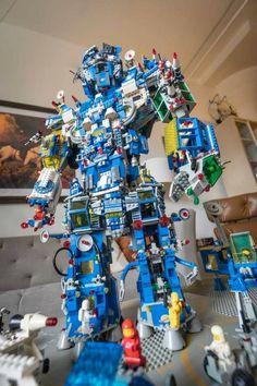 Lego Display, Lego Mecha, Lego Models, Everything Is Awesome, Lego Stuff, Cool Lego, Lego Creations, Lego Sets, Play Houses