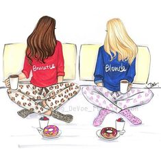 What are you? #a i am both ...i have half brown and half blonde hairs