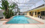 Ridgewood Lakes Luxury 4 Bedroom 2 Bath Davenport Villa Only 15 minutes from Disney World Florida. Very large pool area with slide. Florida Villas, Disney World Florida, Orlando Vacation, North America, Lakes, Bath, Luxury, Pool Spa, Outdoor Decor