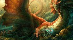 Dragón rojo, de Kerem Beyit