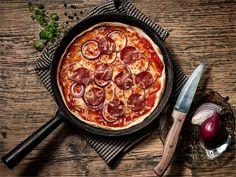 Pikapizza pannulla