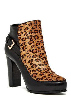 8a4c81039cb7d Nicole Miller Flora Bootie Leopard Shoes