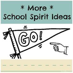 15 Spirit Week Ideas for School 10 More Spirit Day Ideas for School! 15 Spirit Week Ideas for School 10 More Spirit Day Ideas for School! 15 Spirit Week Ideas f School Week, School Teacher, Art School, School Stuff, School Ideas, Leadership Classes, Student Leadership, Student Gov, Spirit Day Ideas