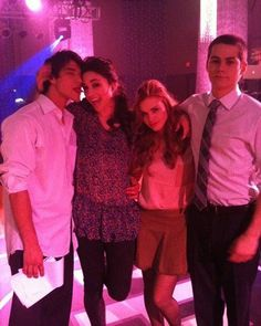 I miss     #HollandRoden  #CrystalReed  #DylanObrien  #TylerPosey