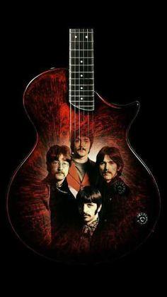 ~ The Beatles ~ Foto Beatles, Beatles Poster, Les Beatles, Beatles Art, Beatles Photos, Great Bands, Cool Bands, Ronnie Wood Art, John Lenon