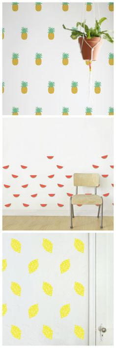 Textile wall stickers - add fun to your kids room!