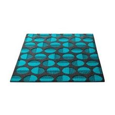 Room Essentials Throw Rug by Turquoise & Gray Dots Accent Rug Polka Dot Rug, Polka Dots, Top 10 Colleges, Picnic Blanket, Outdoor Blanket, Dorm Accessories, Teal Living Rooms, Room Essentials, Nursery Inspiration