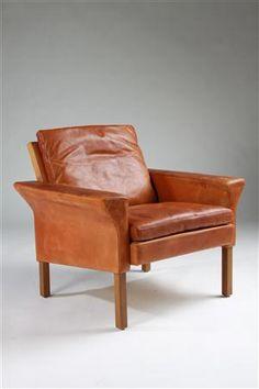 must be very comfortable ~ Ejnar Larsen and Aksel Bender Madsen, Armchair for Fritz Hansen, 1960s.