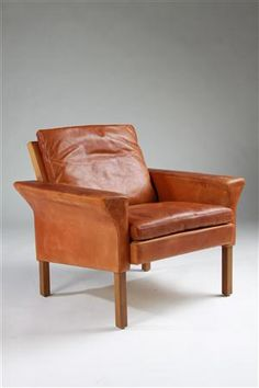 Ejnar Larsen and Aksel Bender Madsen, Armchair for Fritz Hansen, 1960s.
