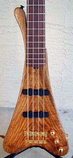 Clement Basses, custom 4 string