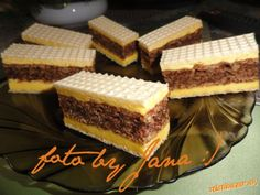 Slovak Recipes, Czech Recipes, Russian Recipes, Christmas Sweets, Christmas Baking, No Bake Cookies, Cake Cookies, Waffle Cake, Traditional Cakes